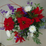 poinsettia cut flower arrangements (23)