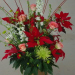 poinsettia cut flower arrangements (44)